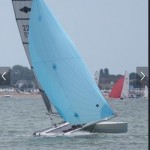 Jack tindale and Hugo Bull win the Hurricane Nationals at Thorpe Bay